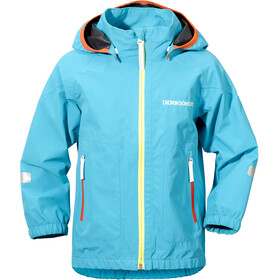 Didriksons 1913 Kids Bay Jacket Pale turquoise